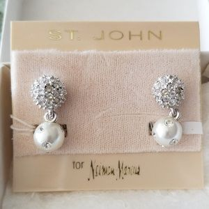 St. John Dress Earrings